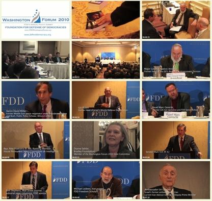 کلیپ کنفرانس مقابله با تهدید ایران / بنیاد آمریکایی دفاع از دموکراسی FDD / لینک مستقیم دانلود