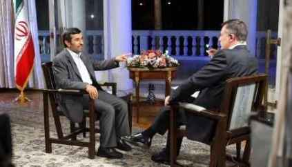 فیلم مصاحبه دکتر احمدی نژاد با شبکه تلویزیونی راشاتودی