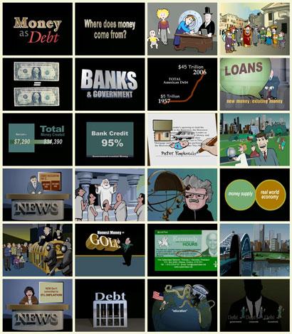 فیلم مستند انیمیشنی پول عامل بدهی / Money As Deb Documentary / زیرنویس فارسی